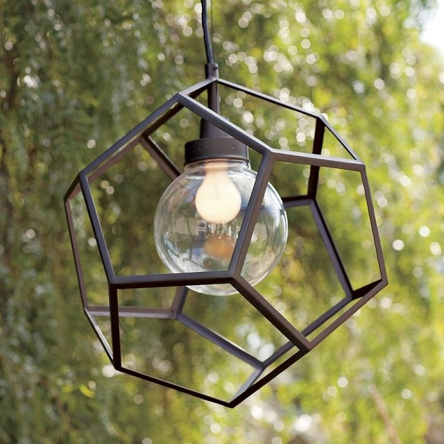 Stunning New Exterior Pendant Lights Intended For Dcor Your Exterior With The Latest Contemporary Outdoor Pendant (View 20 of 25)
