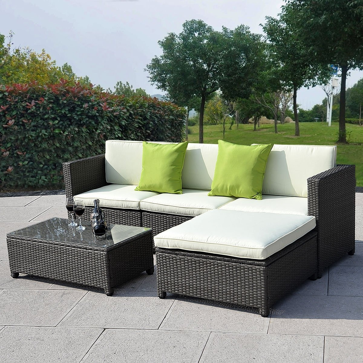 Stunning Patio Furniture Sofa Photos Design Ideas Collections Intended For Outdoor Sofa Chairs (Image 14 of 15)
