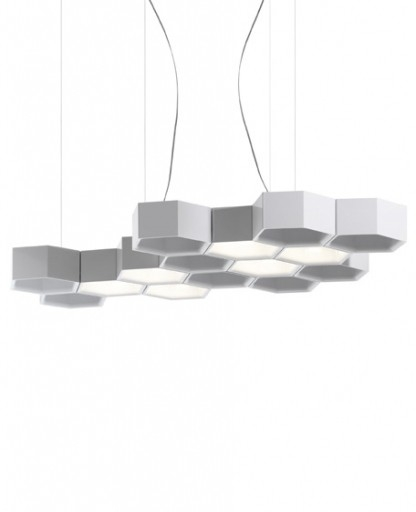 Stunning Popular Honeycomb Pendant Lights With Regard To Honeycomb 6 Modules Pendant Light Luceplan Interior Deluxe (Image 23 of 25)