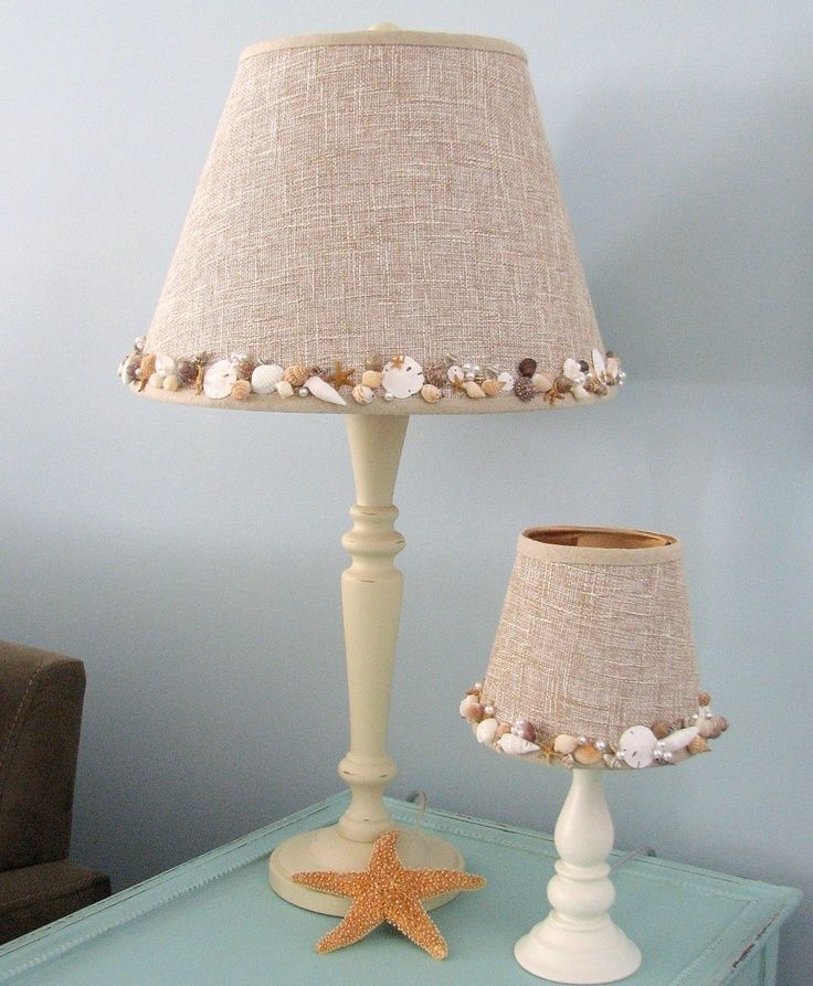 Stunning Popular Shell Light Shades With Charming Shell Lamp Shade European Impression With A Unique Style (Image 25 of 25)