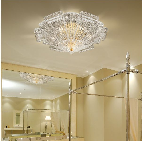 Stunning Popular Venetian Glass Ceiling Lights For Traditional Ceiling Light Murano Glass Incandescent (View 9 of 25)