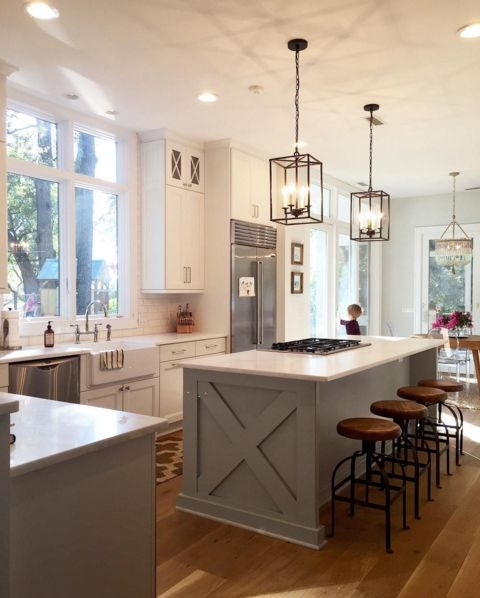 Stunning Preferred Lantern Pendants For Kitchen Regarding Stunning Lantern Pendants Kitchen 1000 Ideas About Kitchen Island (Image 22 of 25)