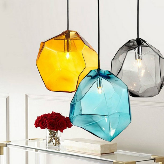Stunning Preferred Multi Coloured Pendant Lights Inside Multicolored Hanging Lamp Promotion Shop For Promotional (View 11 of 25)