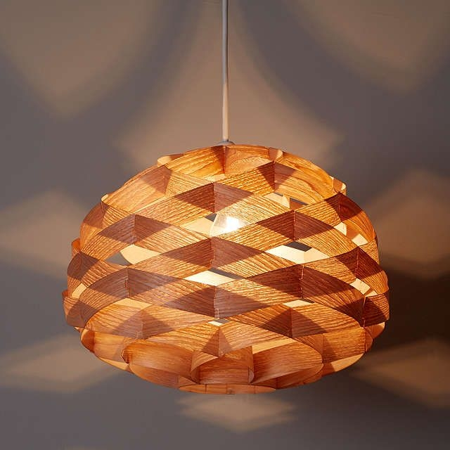 Stunning Preferred Wood Veneer Light Fixtures Pertaining To 18 Best Diy Light Fixture Images On Pinterest (View 18 of 25)