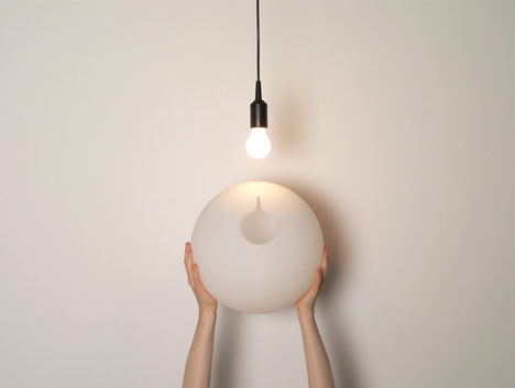 Stunning Premium Bare Bulb Light Fixtures Within Simple Sphere Transforms Bare Bulbs To Soft Ceiling Lights (Image 24 of 25)