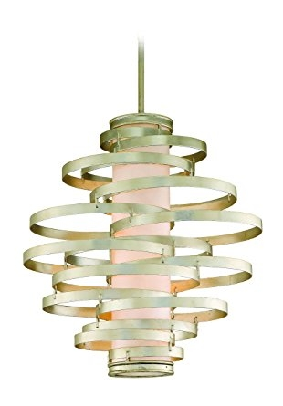 Stunning Premium Corbett Vertigo Medium Pendant Lights Intended For Corbett Lighting 128 44 Vertigo Pendant Bulb Type 4 X 60 Watt (View 10 of 25)