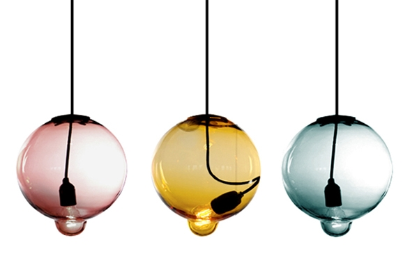 Stunning Series Of Hand Blown Glass Pendant Lights Intended For Hand Blown Glass Pendant Lighting Esther Patterson The Founder Of (Image 20 of 25)
