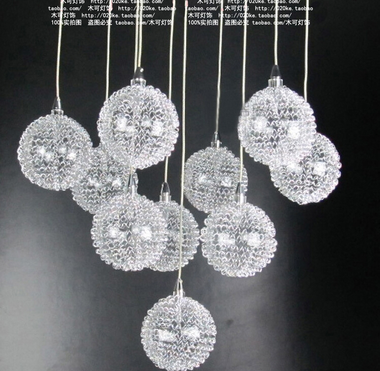 Stunning Series Of Wire Ball Pendant Lights With Regard To Lamp Fixture Parts Picture More Detailed Picture About Aluminium (Image 24 of 25)