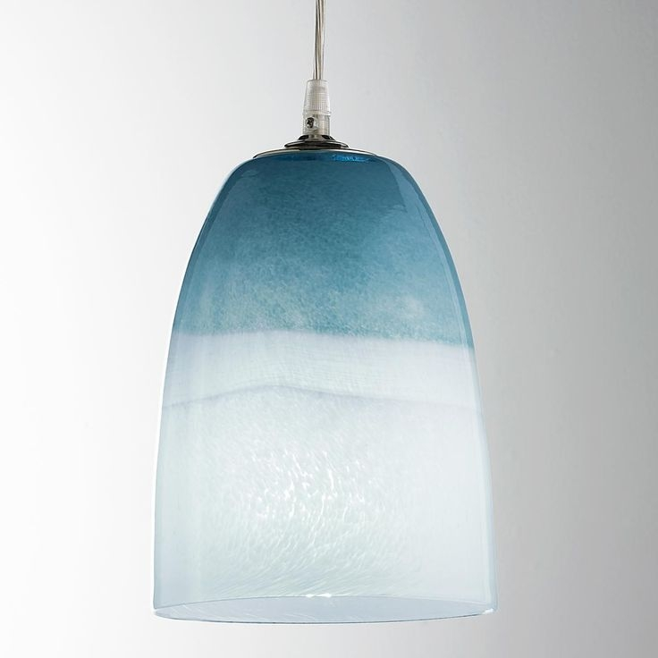 Stunning Top Blue Pendant Light Shades In 92 Best Feeln The Blues Images On Pinterest (Image 23 of 25)