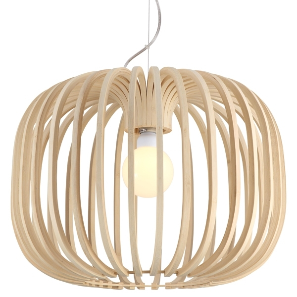 Stunning Variety Of Batten Fix Pendant Lights For Bamboo Pendant Lighting Ay Illuminate Ari Timber Light (Image 23 of 25)