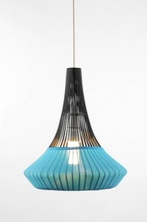 Stunning Well Known Blue Pendant Light Fixtures With Regard To Aqua Pendant Lamp Foter (Image 23 of 25)