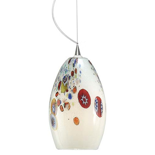 Stunning Wellknown Murano Glass Lighting Pendants For Murano Glass Pendant Lights Tequestadrum (Image 25 of 25)