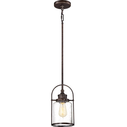 Stunning Wellknown Patriot Lighting Pendants Inside Resto 1 Light 11 12 Imperial Bronze Mini Pendant At Menards (Image 23 of 25)