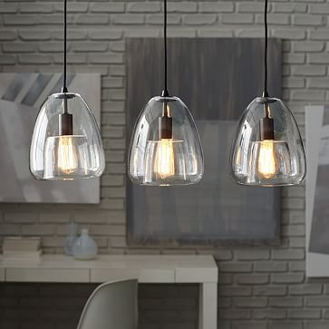 Stunning Well Known Three Pendant Lights Pertaining To The Kenninghall 3 X Kilner Hanging Mason Jar Lights Ceiling Dining (Image 22 of 25)