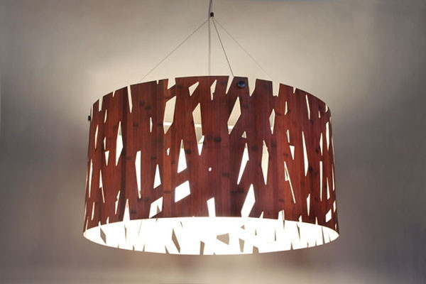 Stunning Wellliked Wood Veneer Pendant Lights Within Lampa Forest Satellite Lampa Forest Satellite Pendant Light (View 7 of 25)