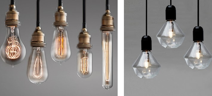 Stunning Widely Used Bare Bulb Hanging Pendant Lights In Fresh Interiors Blog (Image 23 of 25)