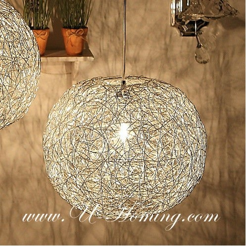 Stunning Widely Used Wire Ball Light Pendants With The Most Attractive Mesh Wire Ball Pendant Modern Lamp Modern (Image 21 of 25)