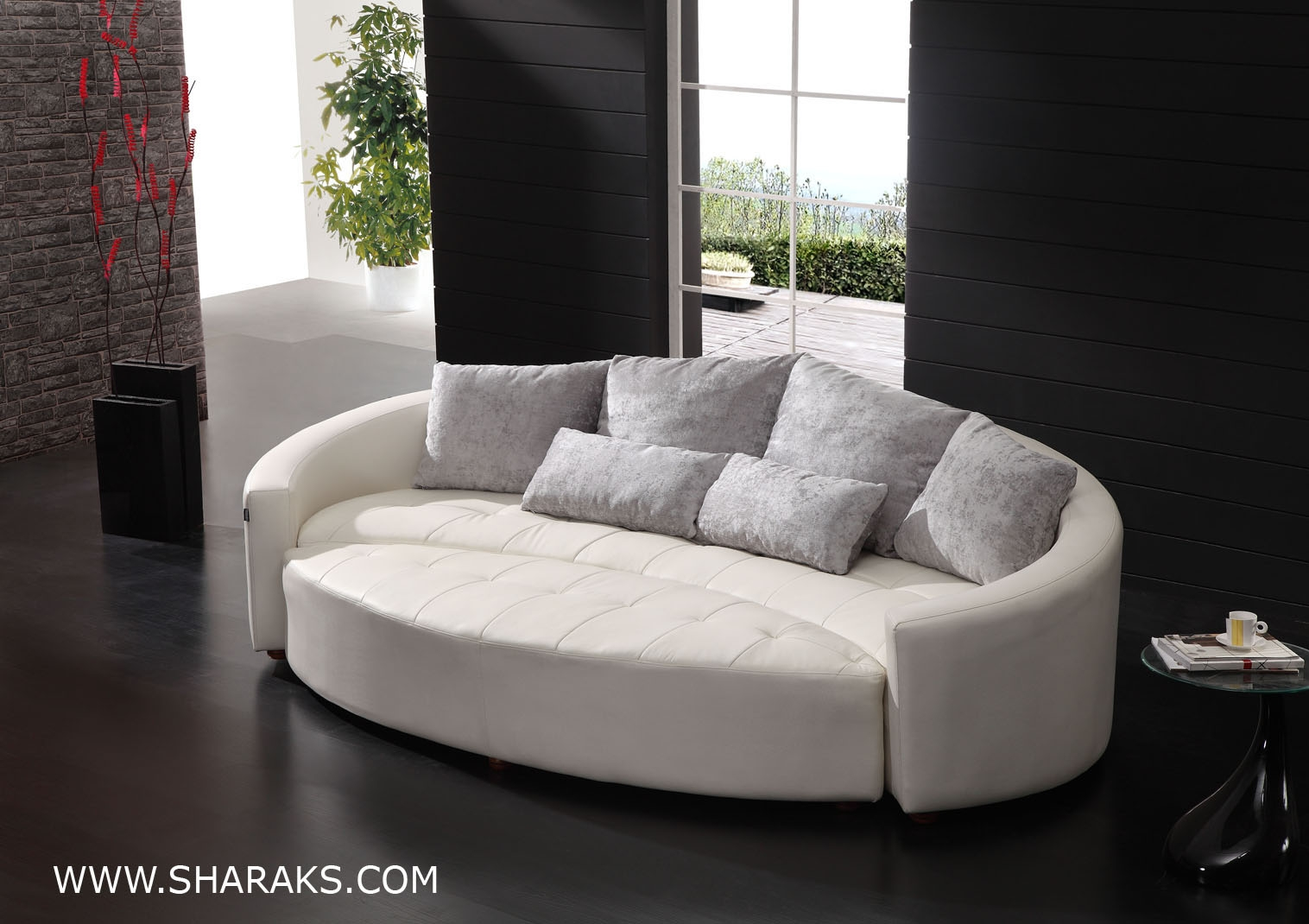 Stylish 1000 Images About Curved Couch Ideas On Pinterest Curved With Regard To Circular Sofa Chairs (Image 15 of 15)