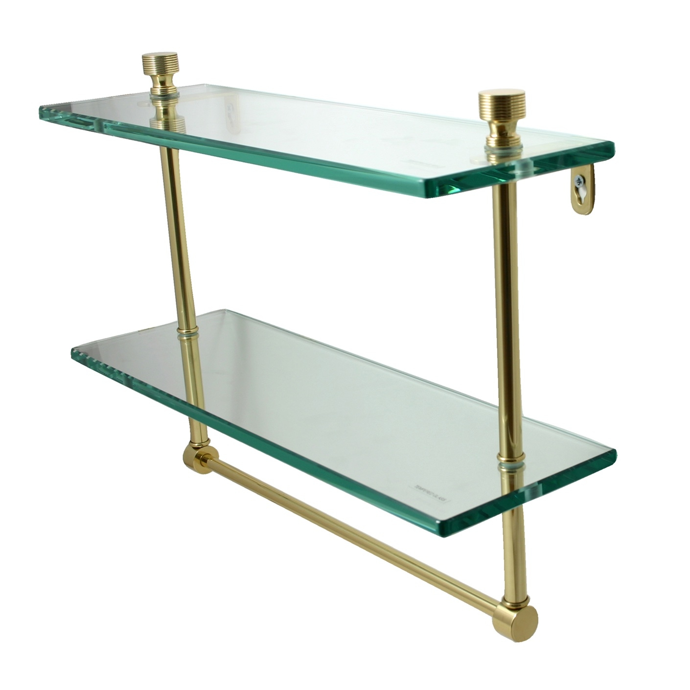 Suspended Glass Shelf Glass Cable Shelving Supporting Bread Pertaining To Cable Suspended Glass Shelves (Image 13 of 15)