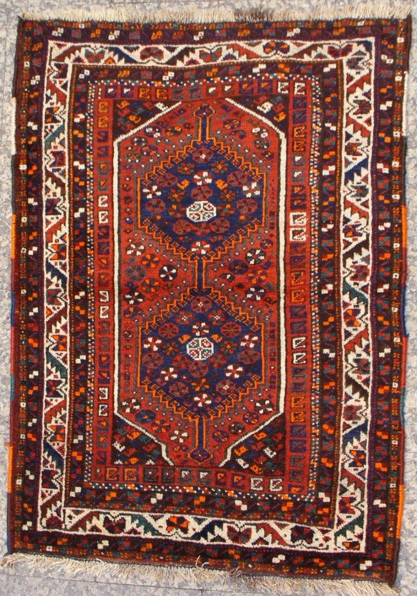 Sw Iran Arab Nomad Ghani Small Rug 146×104 Rich Saturated With Arabic Carpets (Image 15 of 15)