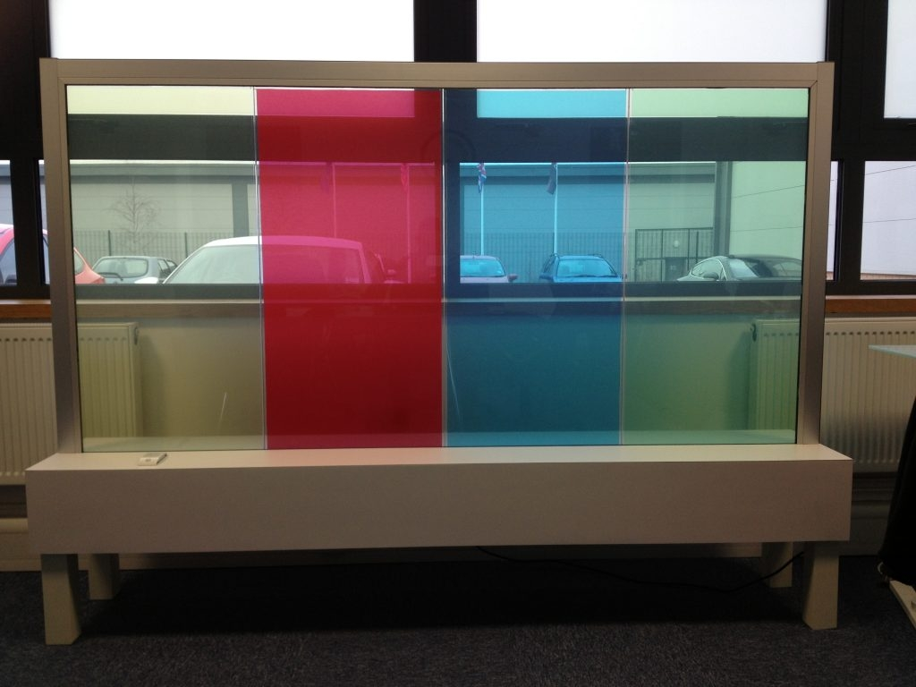Switchable Coloured Glass With Regard To Coloured Glass Shelves (Image 14 of 15)