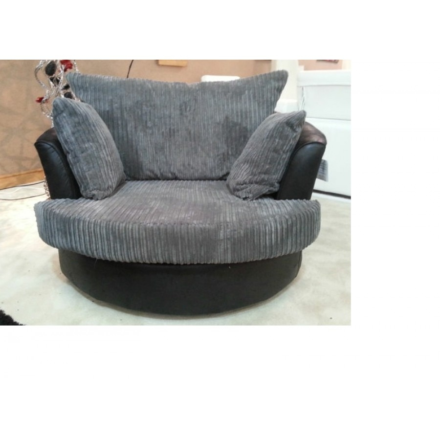 Swivel Sofa Chairs With Regard To Sofa With Swivel Chair (View 14 of 15)
