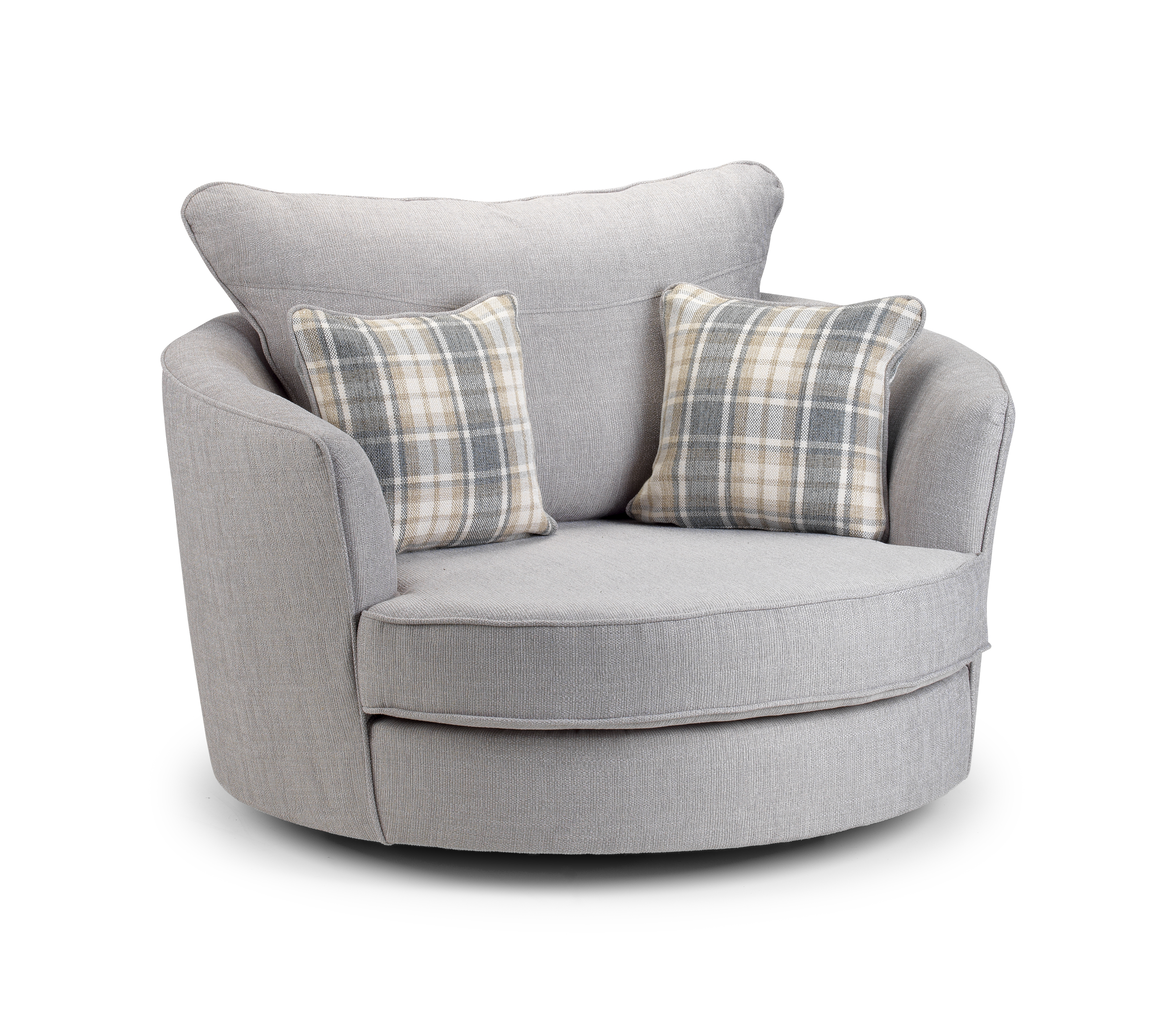 Swivel Sofa Chairs Within Round Swivel Sofa Chairs (Image 15 of 15)