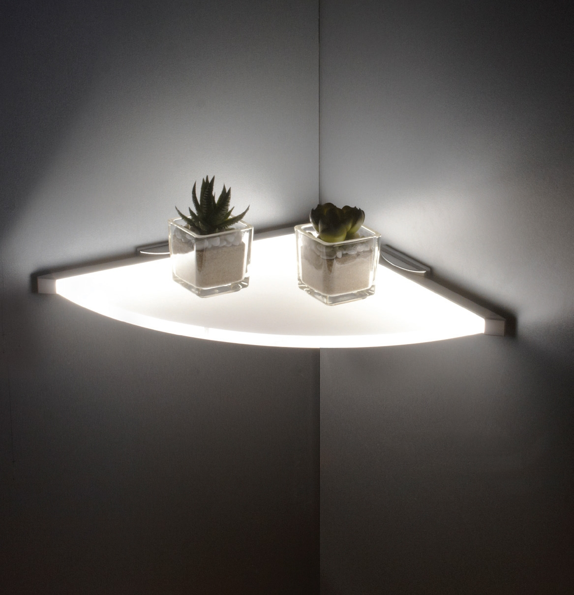 Sycamore Lighting Products Inside Illuminated Glass Shelves (View 10 of 15)