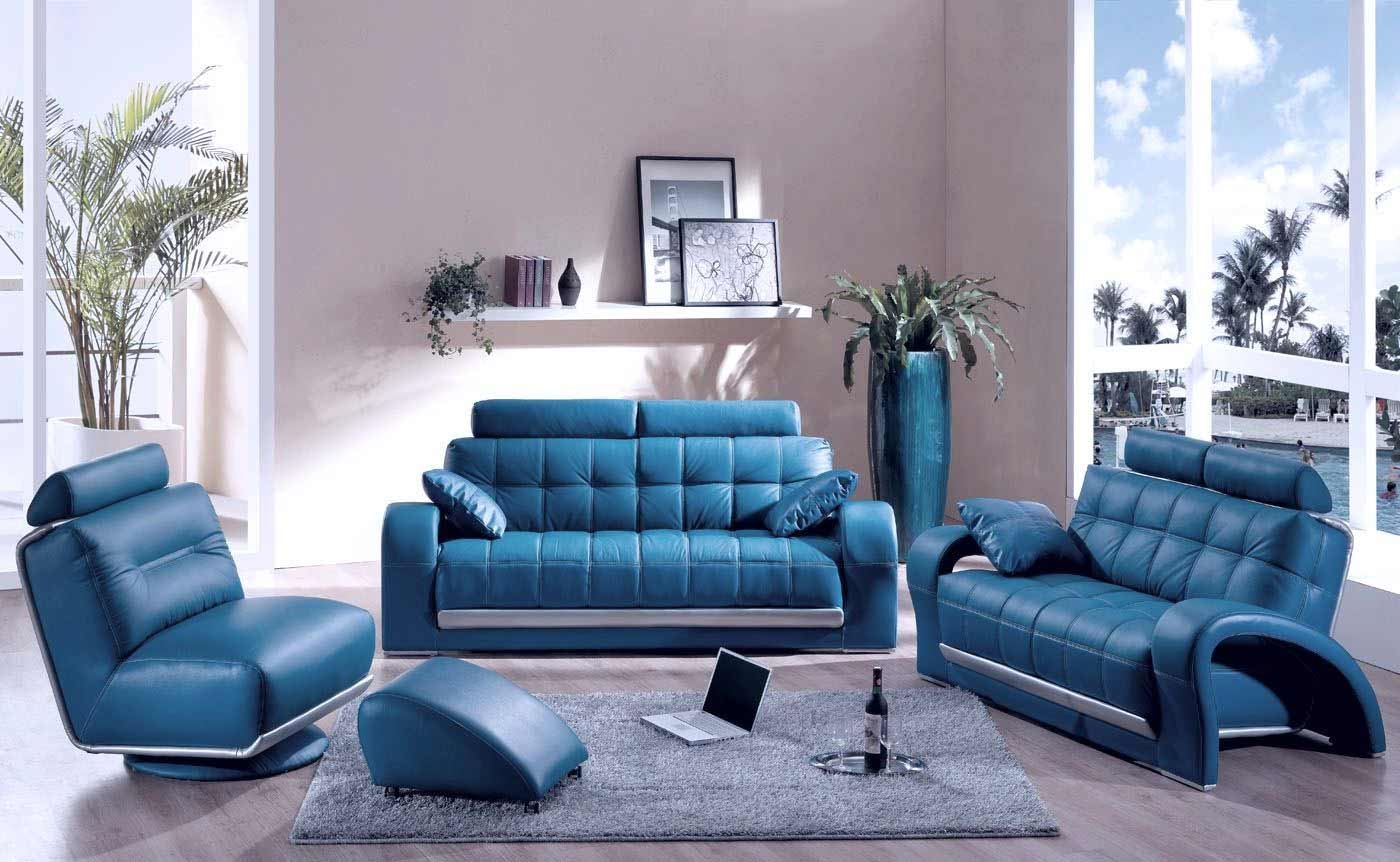 Teal Blue Leather Chair Home Chair Designs Regarding Blue Sofa Chairs (Image 15 of 15)