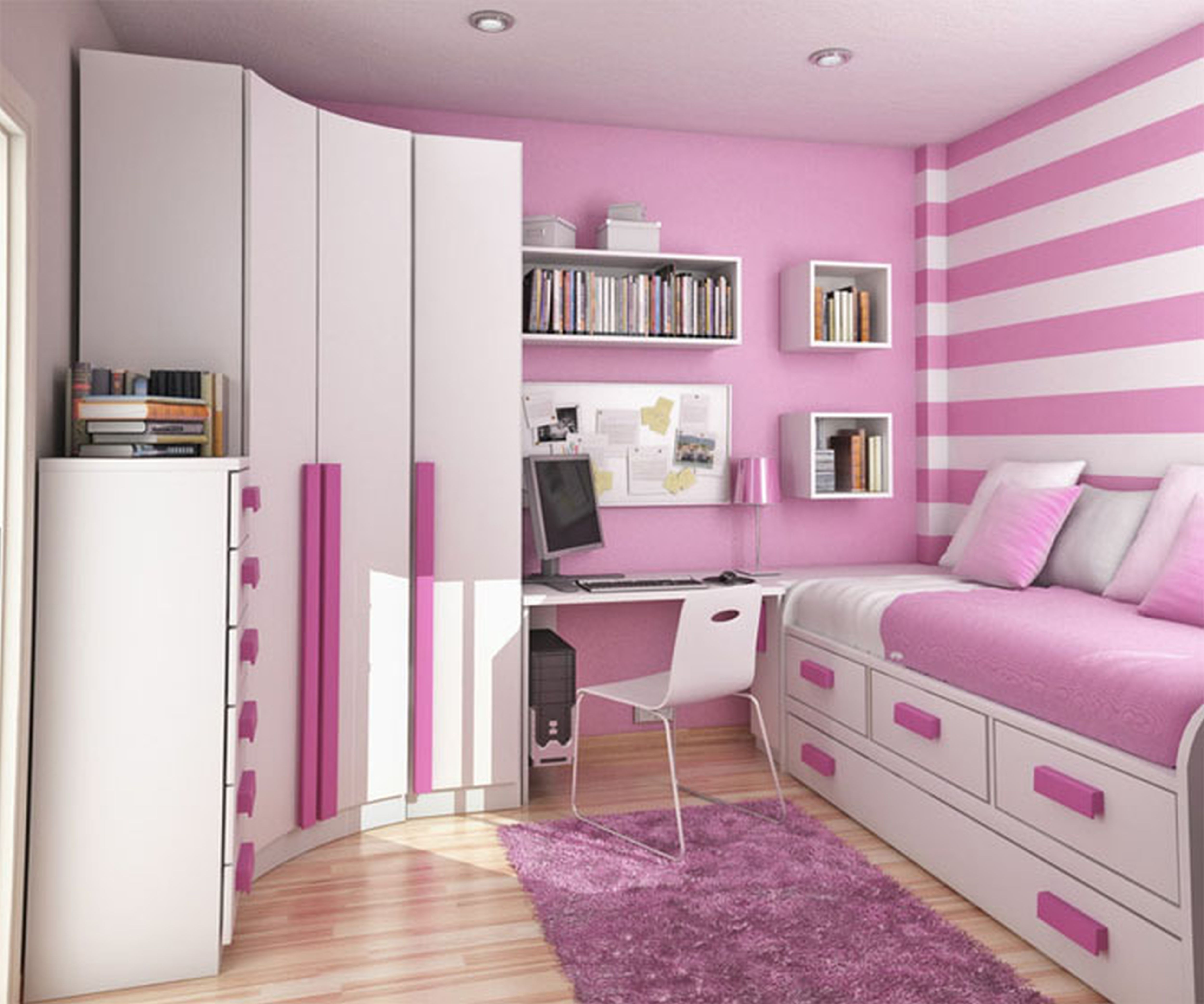 Teen Room Curtains Drapes Spring Mattresses Childrens Mirrors Within Childrens Pink Wardrobes (Image 23 of 25)