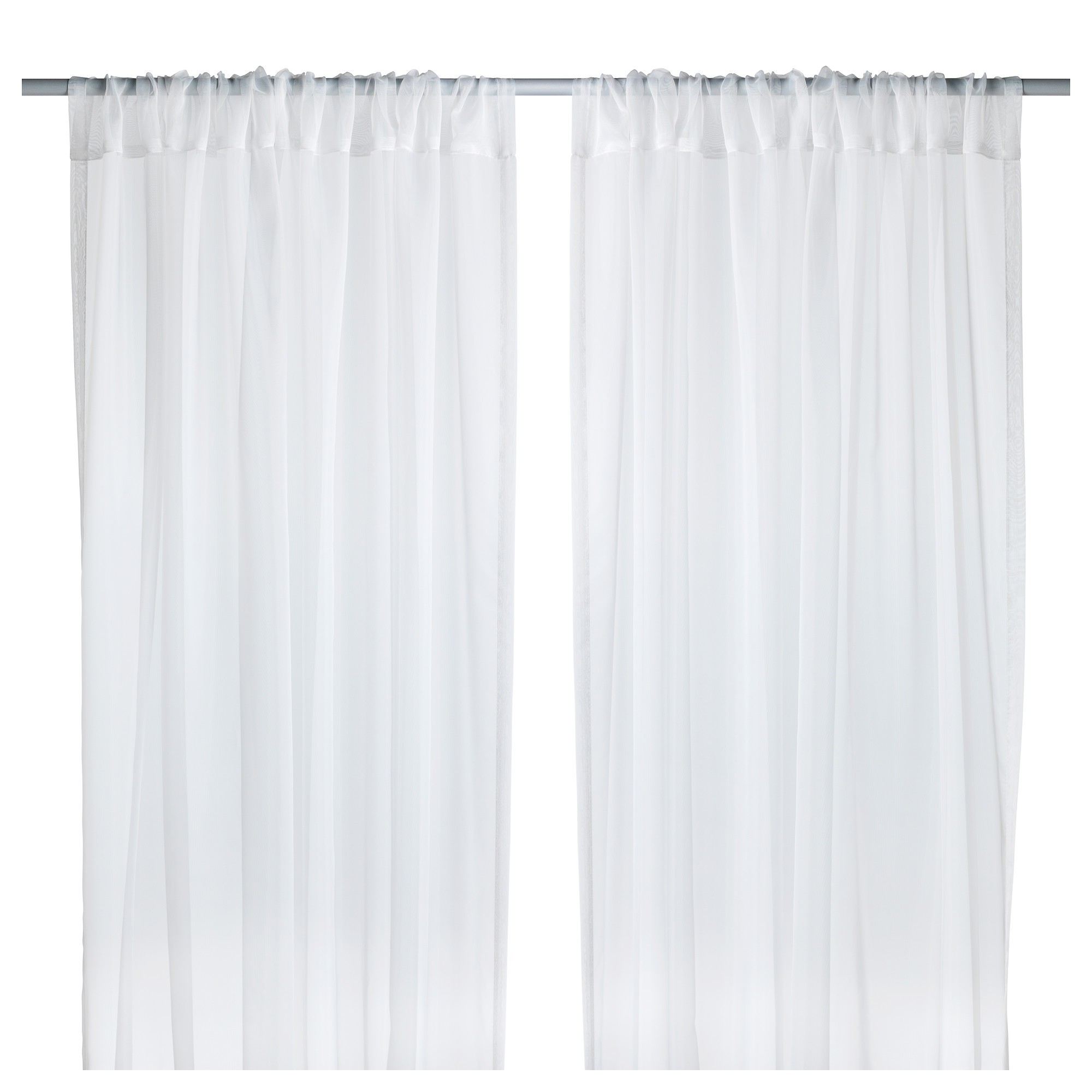 Teresia Sheer Curtains 1 Pair Ikea Within Curtain Sheers (View 7 of 25)