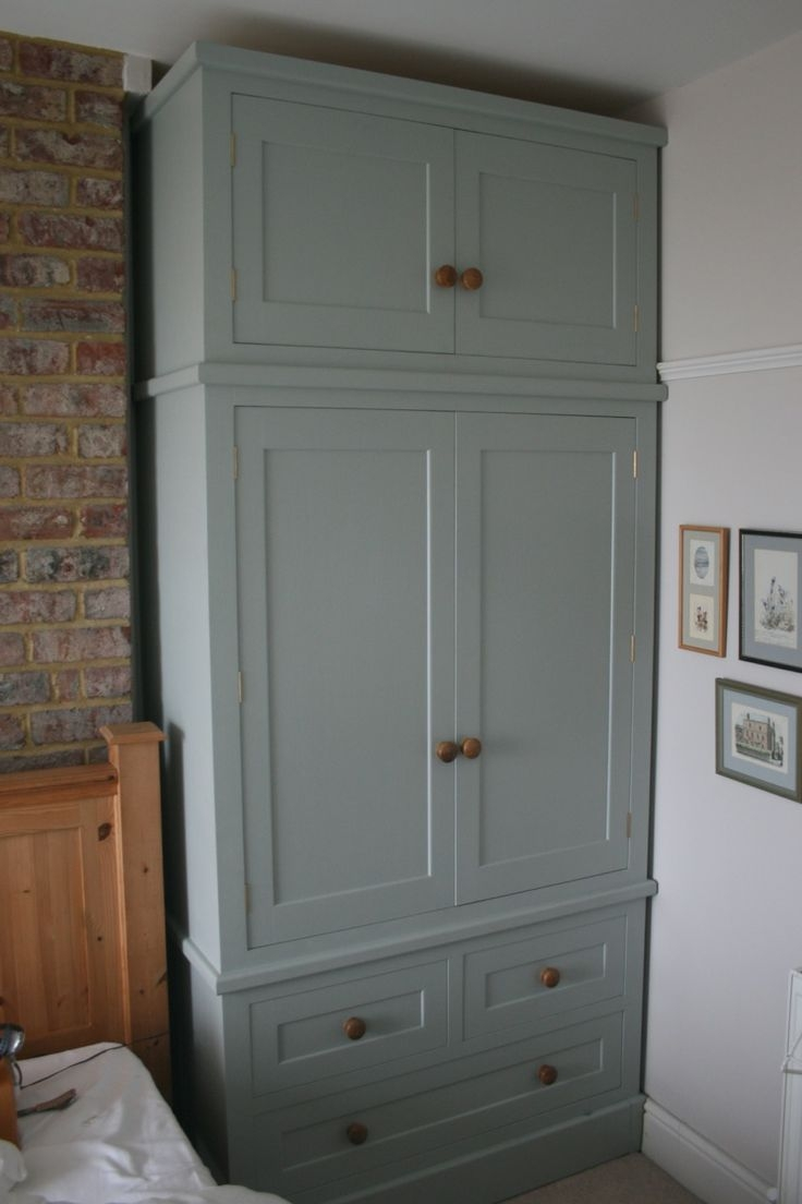 The 23 Best Images About Wardrobe Chimney Breast On Pinterest Regarding Solid Wood Fitted Wardrobes (View 7 of 15)