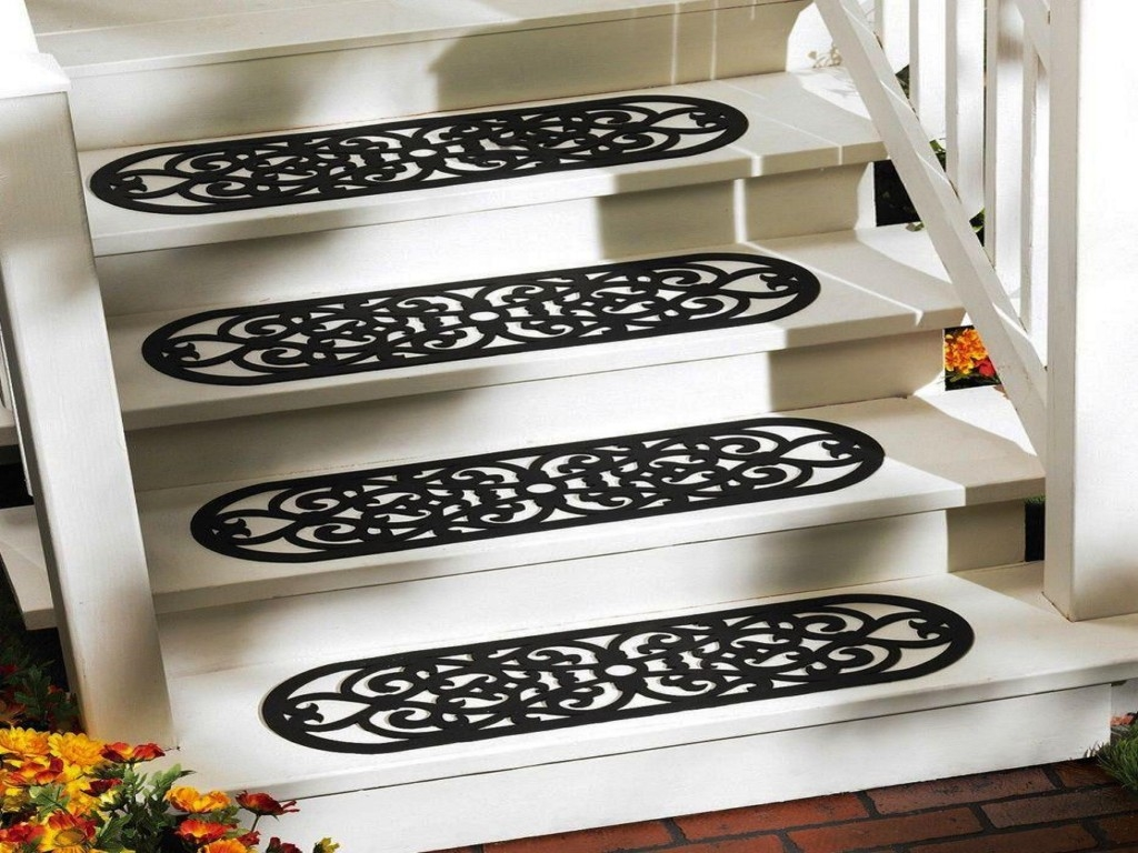 15 Best Decorative Indoor Stair Treads Stair Tread Rugs