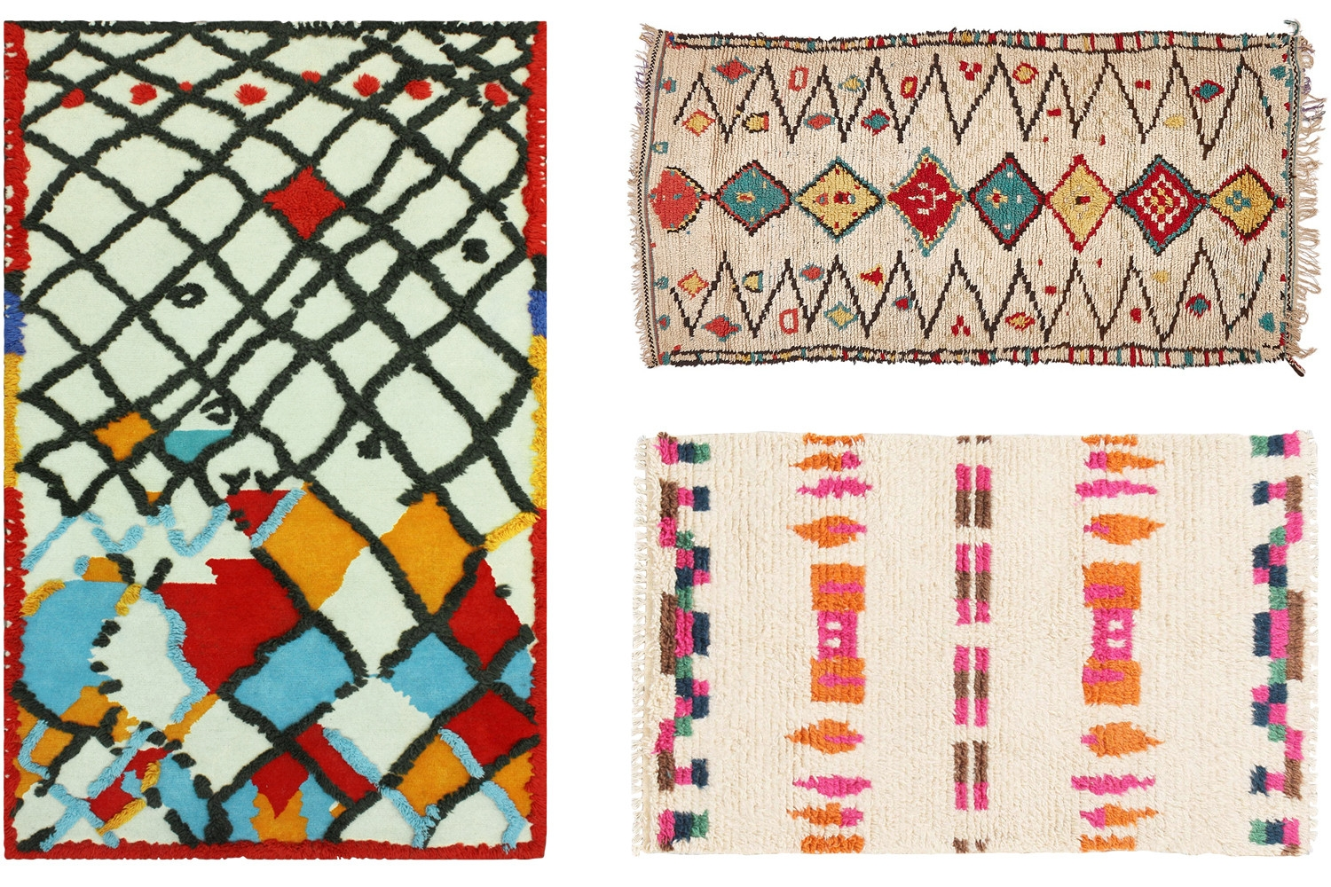 The Cheat Sheet Moroccan Rugs Decorating Lonny Inside Moroccan Rugs (Image 9 of 15)