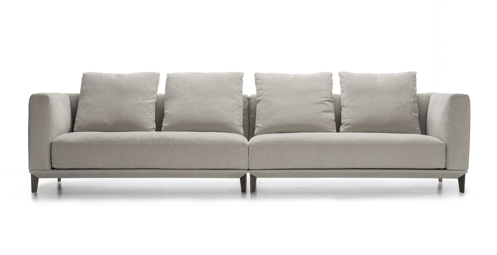 The Four Seater Sofa With Removable Cushions Dylan Alberta With Regard To Four Seat Sofas (Image 15 of 15)