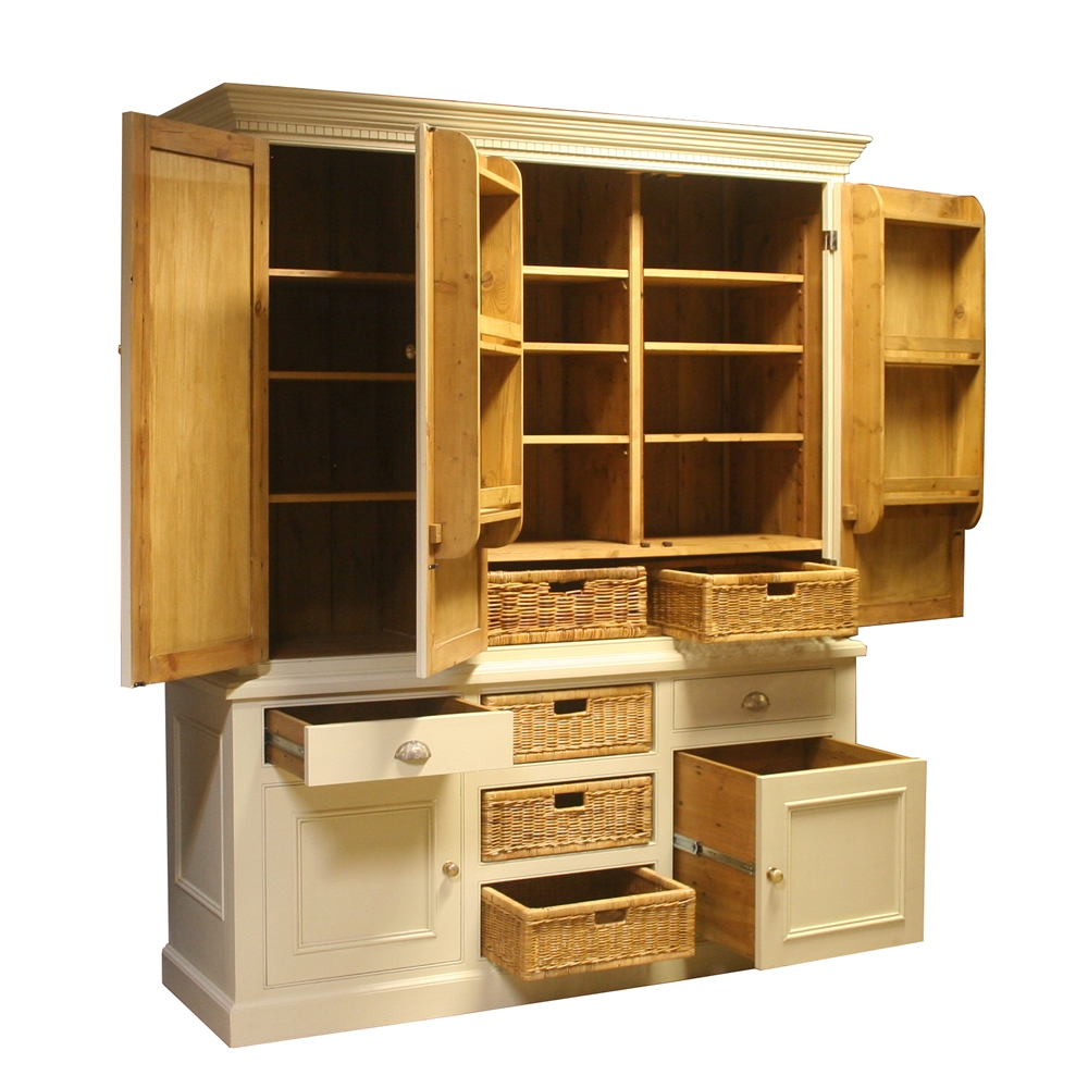 The Main Furniture Company Freestanding Kitchen Furniture With Free Standing Kitchen Larder Cupboards (View 10 of 25)