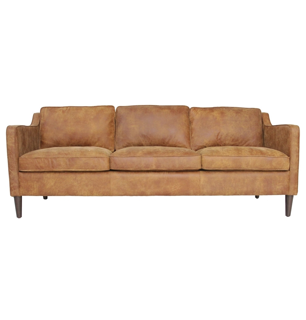 The Matt Blatt Norse 3 Seater Sofa Leather Matt Blatt Lounge Regarding 3 Seater Leather Sofas (Image 13 of 15)