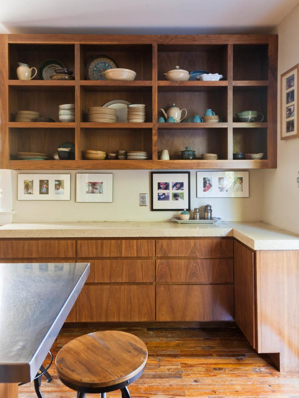 Tips For Open Shelving In The Kitchen Hgtv In Storage Racks For Kitchen Cupboards (View 16 of 25)