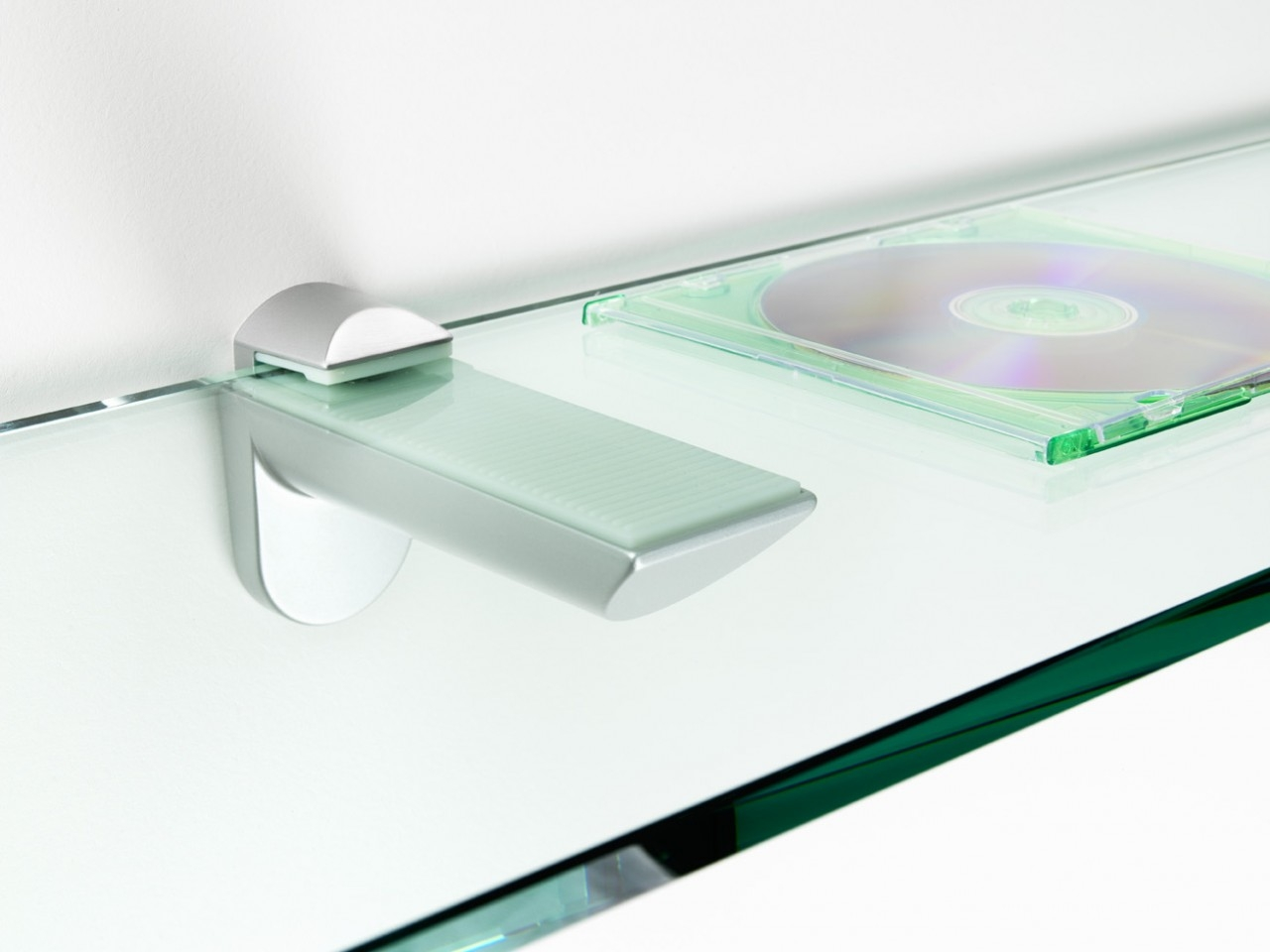 Tips Ideas Interesting Floating Shelves Material Design With Pertaining To Glass Shelf Fittings (Image 13 of 15)