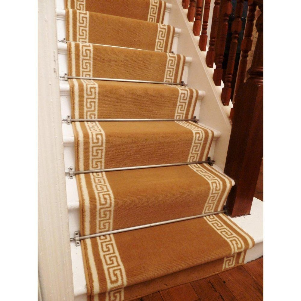 To Install Carpet Stair Runner Translatorbox Stair With Regard To Stair Tread Rug Holders (Image 14 of 15)