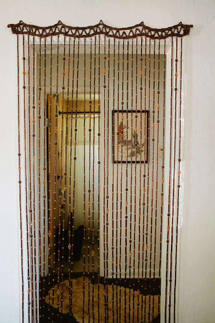 Top 25 Best Beaded Door Curtains Ideas On Pinterest Bead Within Doorway Curtains (View 10 of 25)