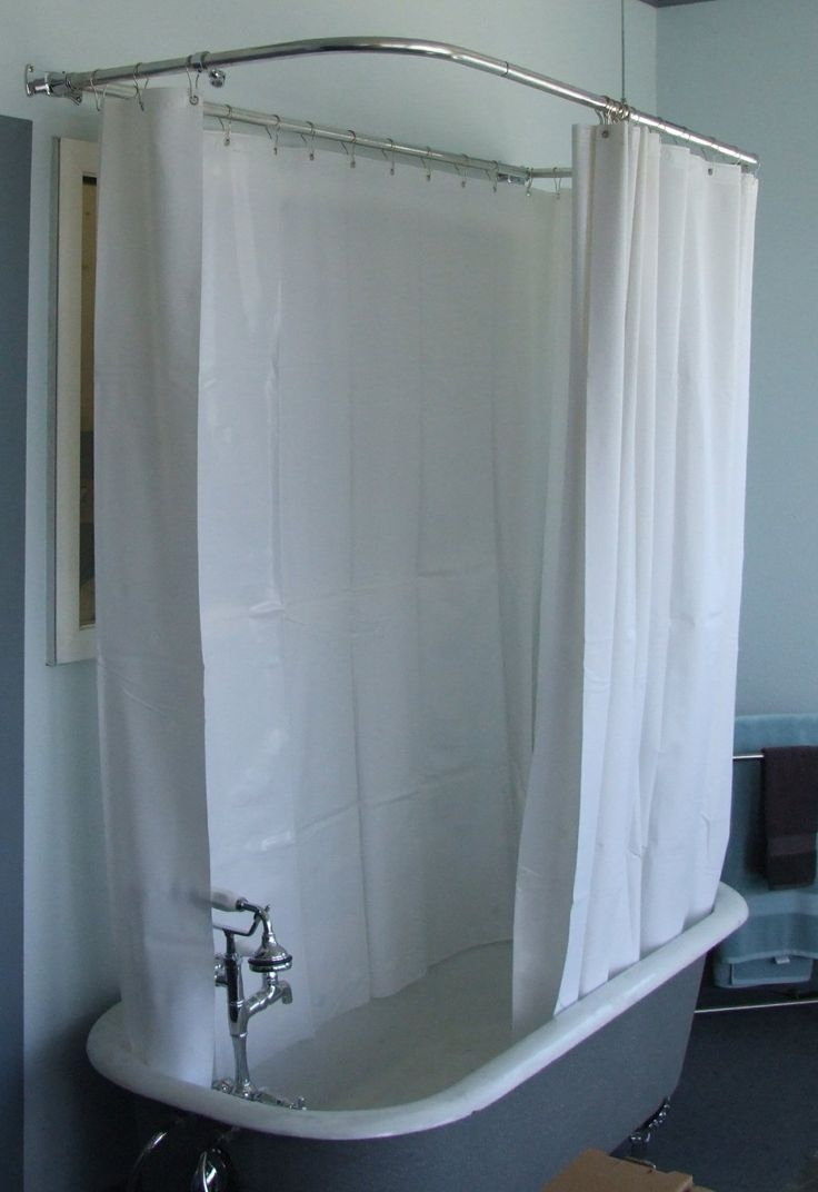 Featured Image of Shower Curtains For Clawfoot Tubs
