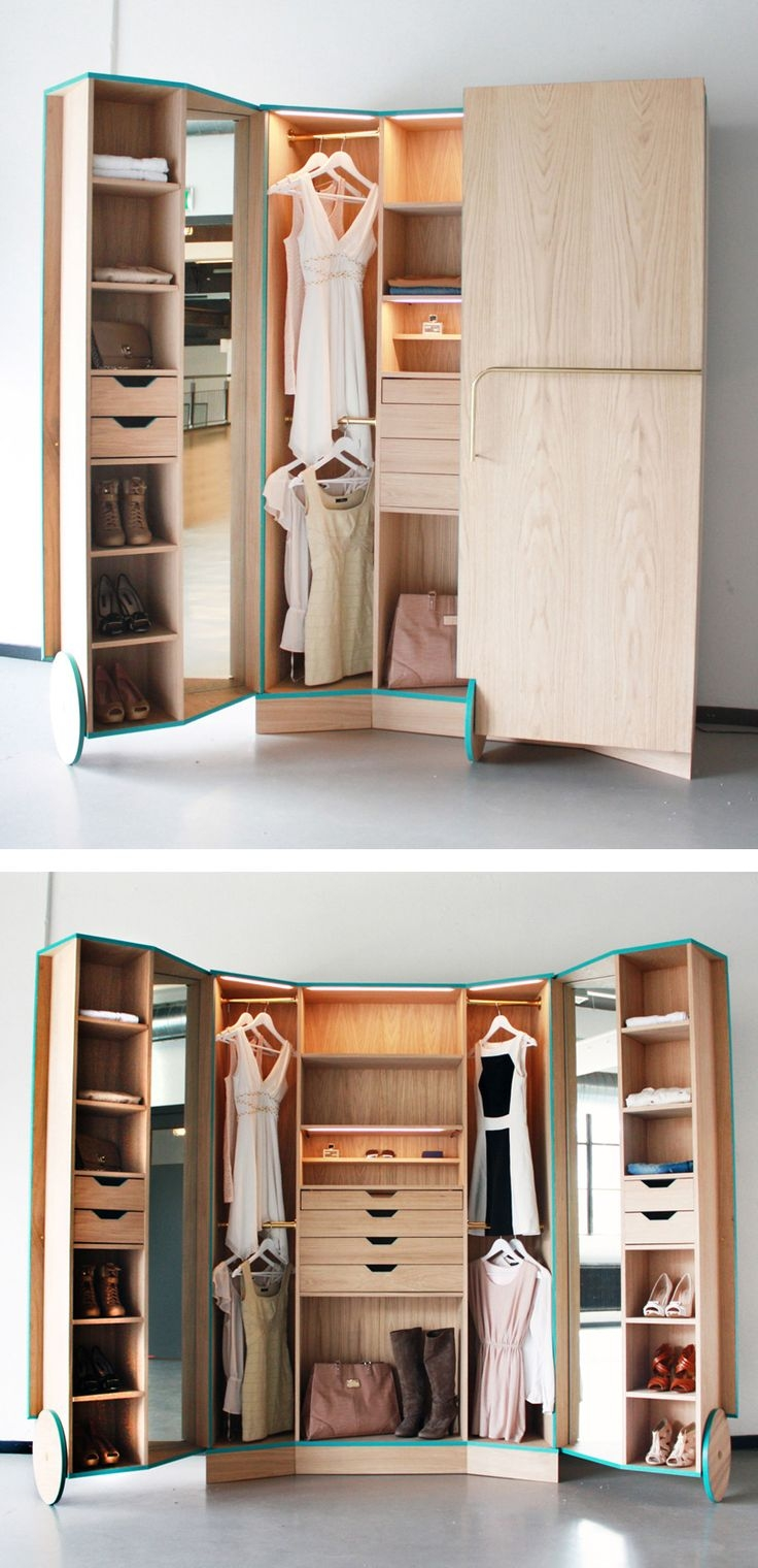 Top 25 Best Portable Closet Ideas On Pinterest Portable Closet Throughout Mobile Wardrobe Cabinets (Image 21 of 25)