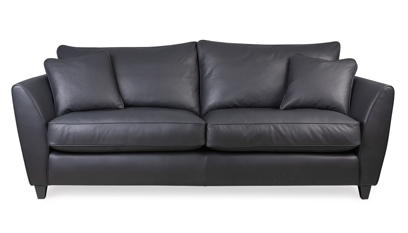 Torino 3 Seater Leather Sofa Within 3 Seater Leather Sofas (Image 14 of 15)