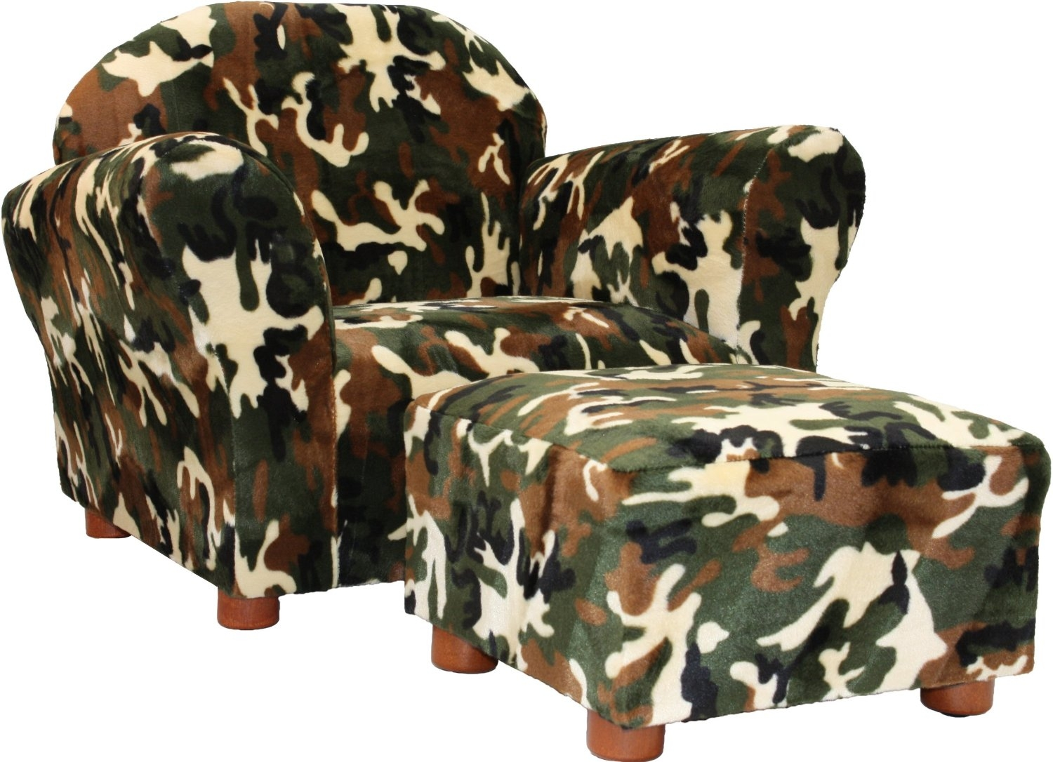 Total Fab Kids Toddler Chair And Ottoman Sets With Regard To Kids Sofa Chair And Ottoman Set Zebra (View 3 of 15)