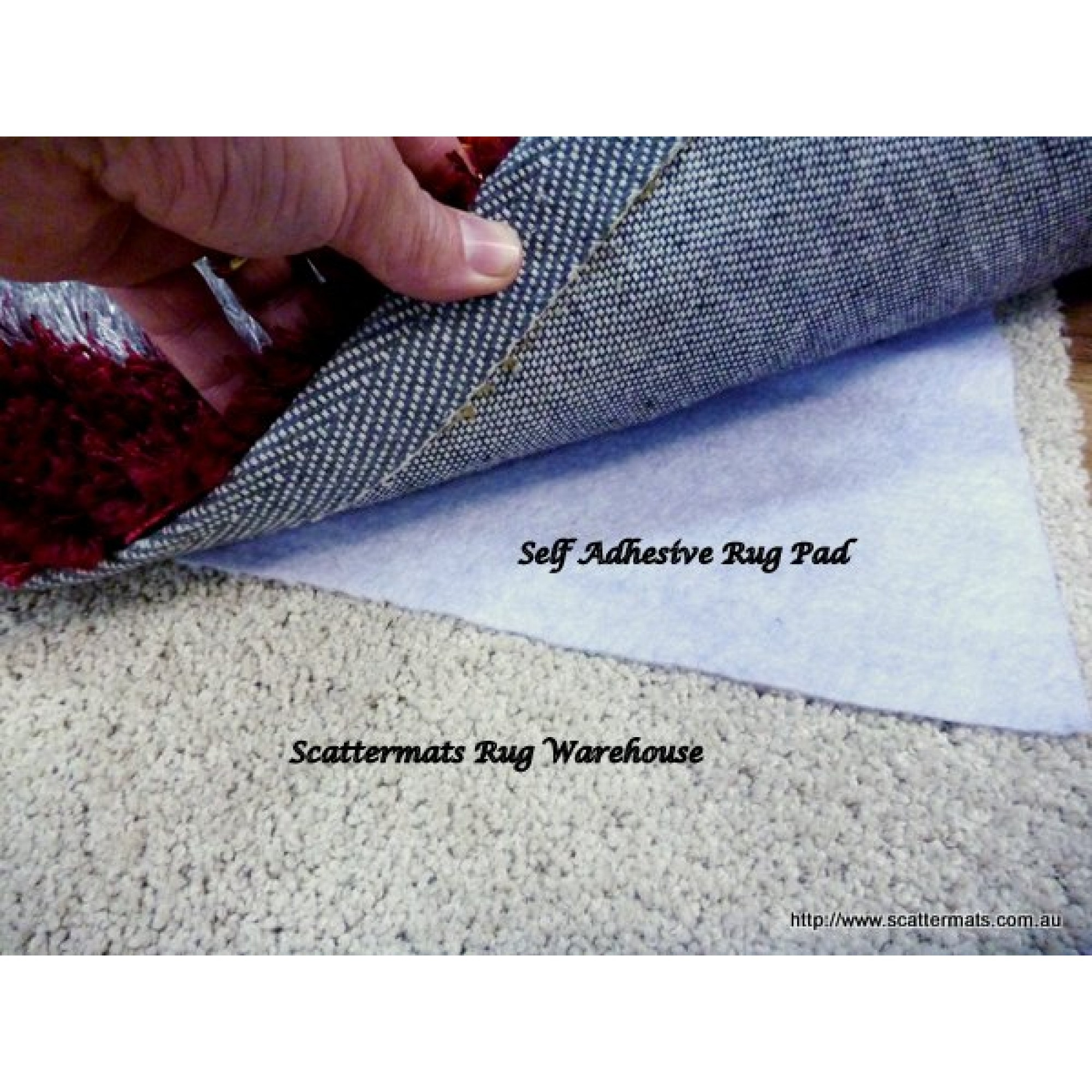 Total Grip Underlay For All Surfaces Free Shipping Australia Wide With Non Slip Rugs (Image 14 of 15)