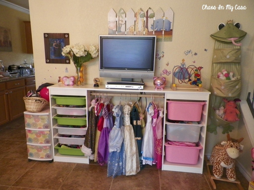 Toy Room Organisation Inspiration The Organised Housewife Toy Intended For Kids Dress Up Wardrobe Closet (Photo 9 of 25)