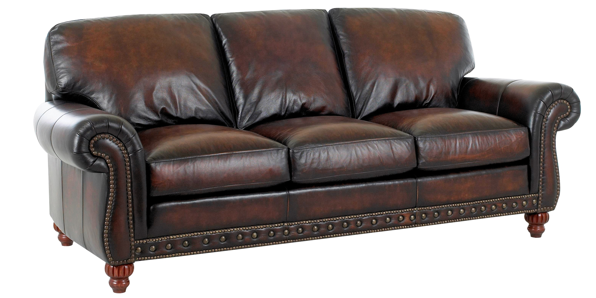Traditional European Old World Leather Sofa Set Club Furniture For Old Fashioned Sofas (Image 15 of 15)