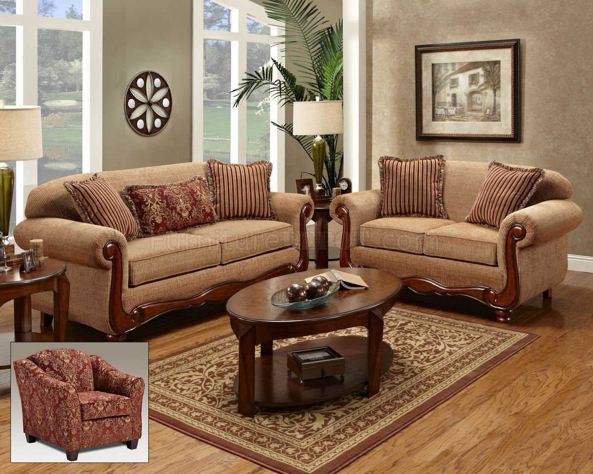 Traditional Fabric Sofas And Chairs Goodca Sofa With Regard To Traditional Sofas And Chairs (Image 9 of 15)