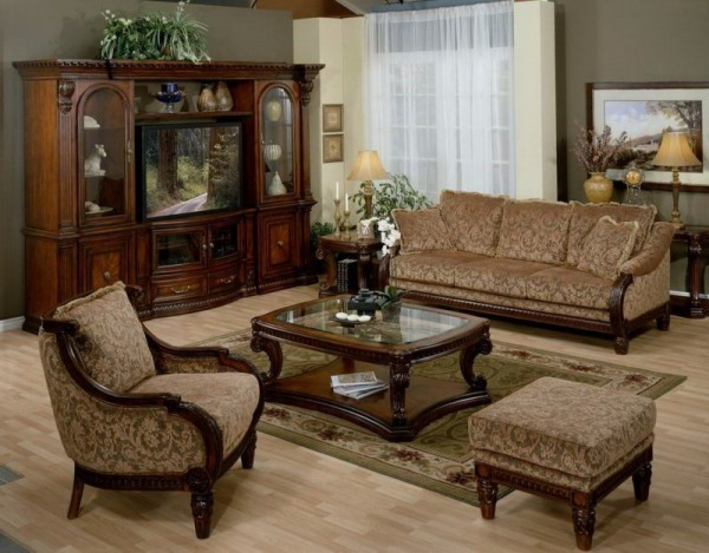 Traditional Wooden Sofa Set Designs Couch Traditional Sofas And Intended For Traditional Sofas And Chairs (Image 15 of 15)